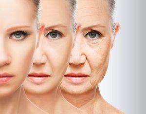 proces starzenia twarzy